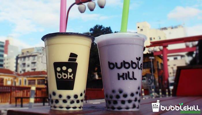 franquia de bubble tea
