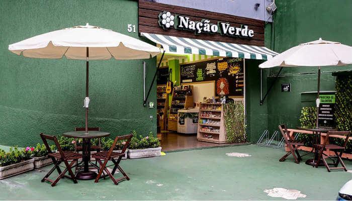 franquia de alimentação saudável - Nação Verde