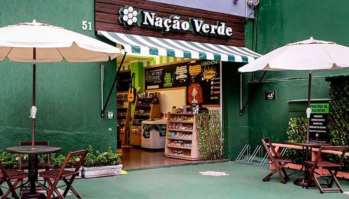 Franquias de produtor naturais - Nação Verde
