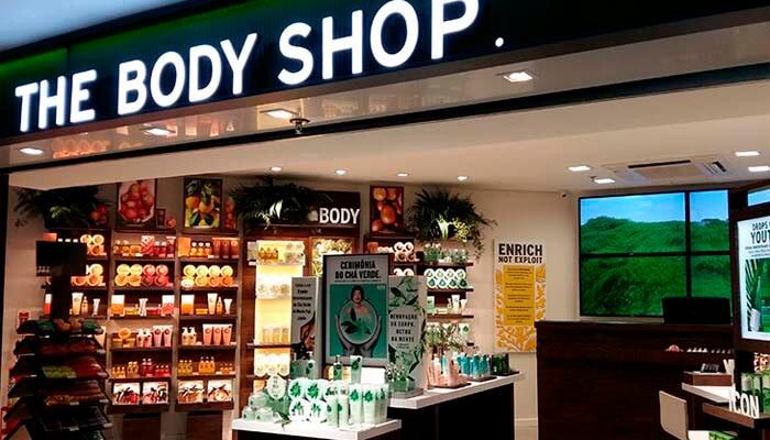 Franquias de Cosméticos e Perfumaria: Franquia The Body Shop