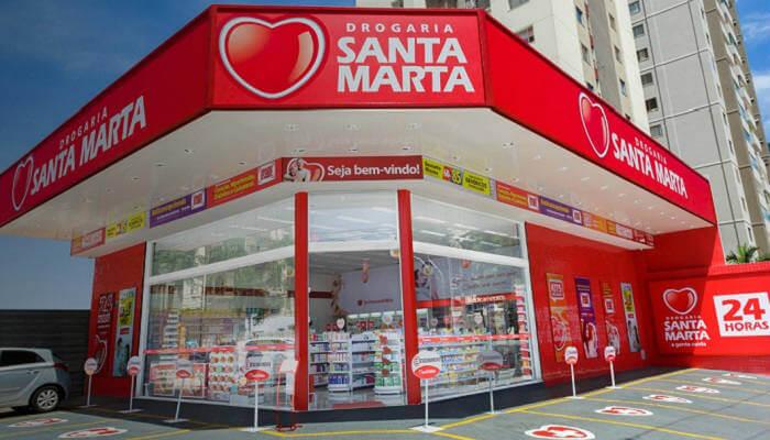 Drogarias Santa Marta - franquias de farmácias