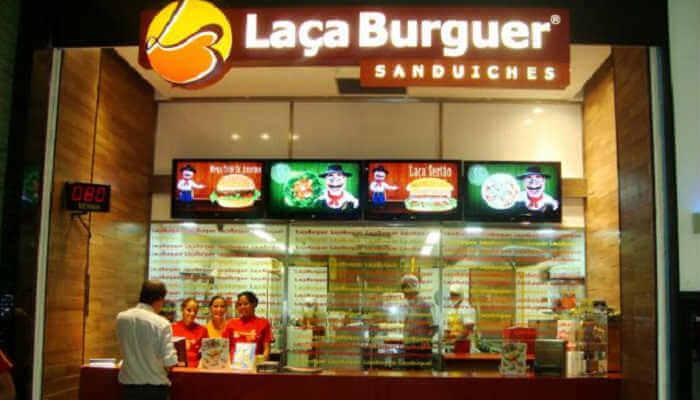 Franquias de sanduíches - Laça Burger
