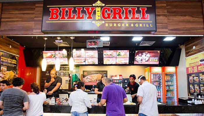 Ótimas franquias de alimentação - Billy The Grill