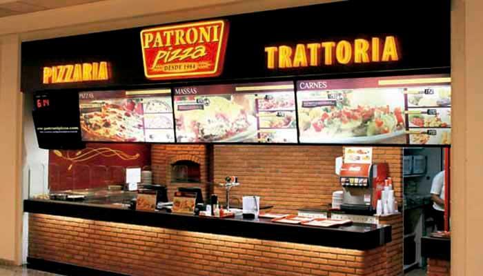 Ótimas franquias de alimentação – FRANQUIA PATRONI PIZZA