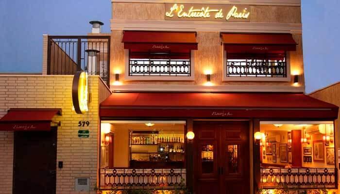 Franquia de alimentação - L'Entrecote Paris