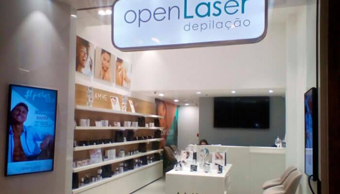 Franquias de beleza - Open Laser