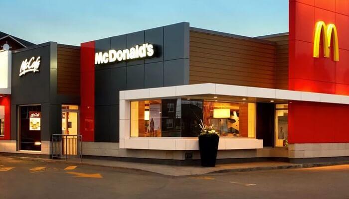Loja da franquia McDonald's