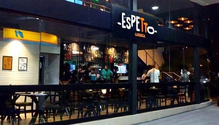 Franquias de bares - Espetto Carioca
