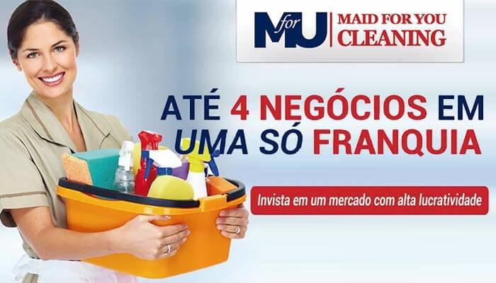 Mini franquias - Maid For You