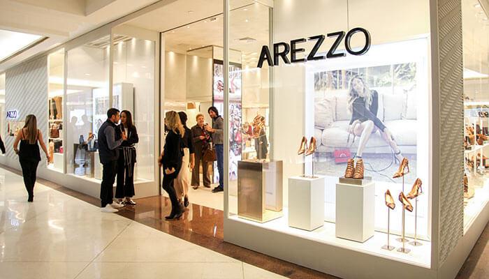 franquia Arezzo
