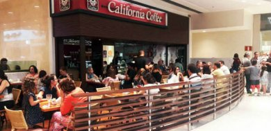 Franquia de cafeteria - California Coffee