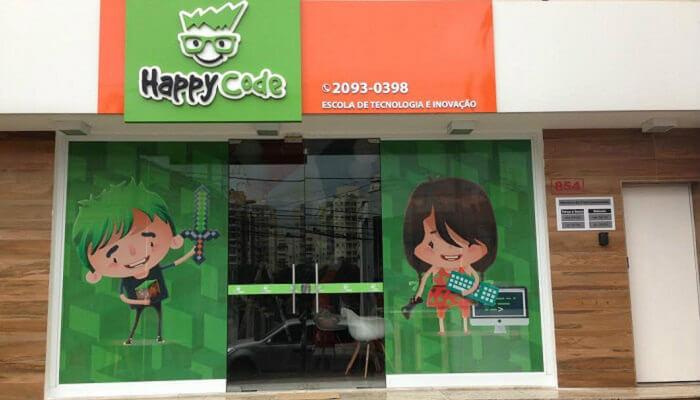 Franquias para crianças - Happy Code