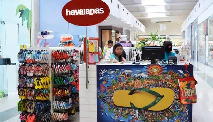 franquias mais famosas - havaianas