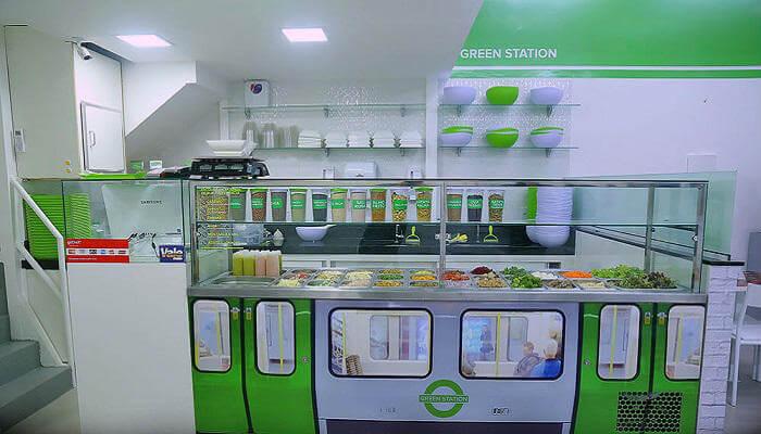 franquias de alimentação 2019 - green station