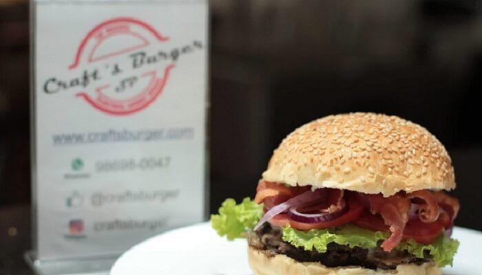 franquias baratas de alimentação - crass burger