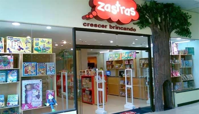 Franquia Zastras Brinquedos