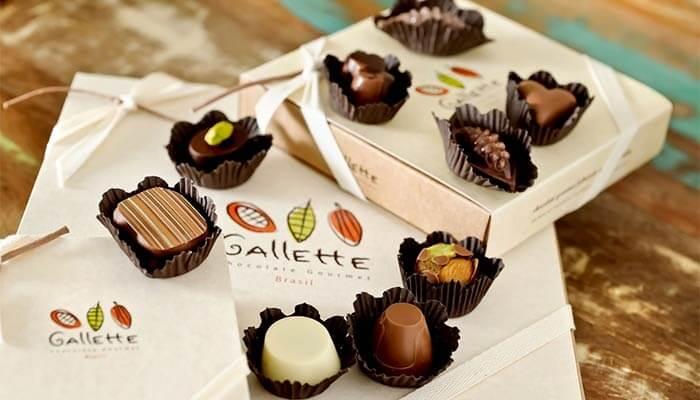 Franquia Gallette Chocolates
