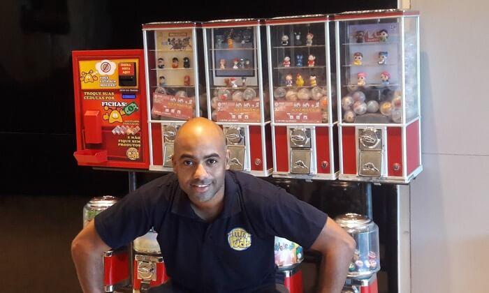 Microempreendedor baiano aposta em vending machines para driblar o desemprego