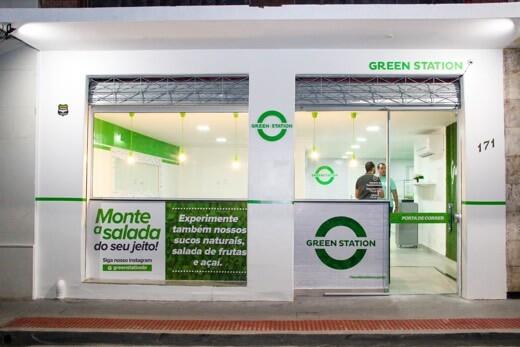 franquia de alimentação saudável Green Station