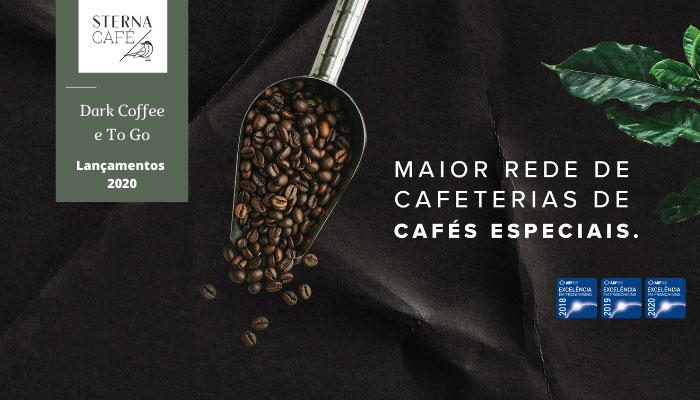 franquias de baixo custo Sterna Café