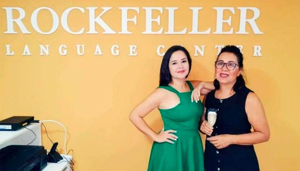 Ela vendeu um imóvel para investir em uma franquia da Rockfeller Language Center