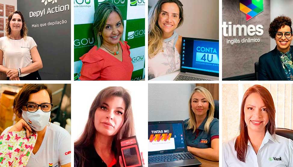 Empresárias no franchising:  elas decidiram mudar de vida e comandar o próprio negócio