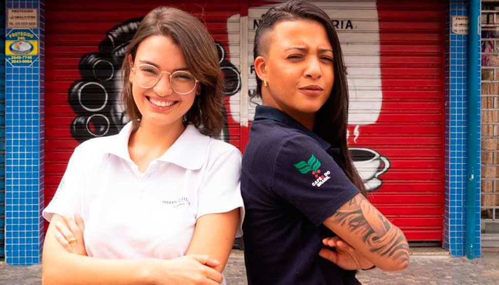 Jovens empreendedoras e amantes de café realizam sonho de abrir a própria cafeteria com a Inverno D'Italia